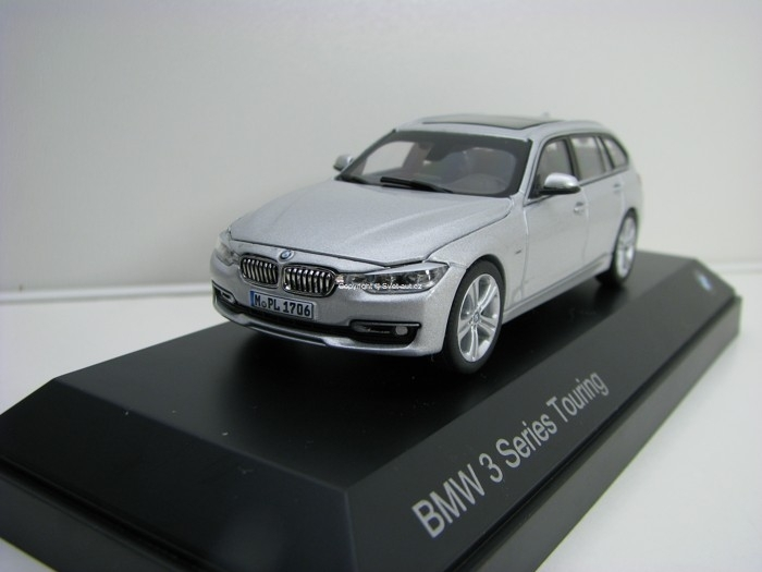 BMW 3 Series Touring 2013 silver 1:43 Paragon Models